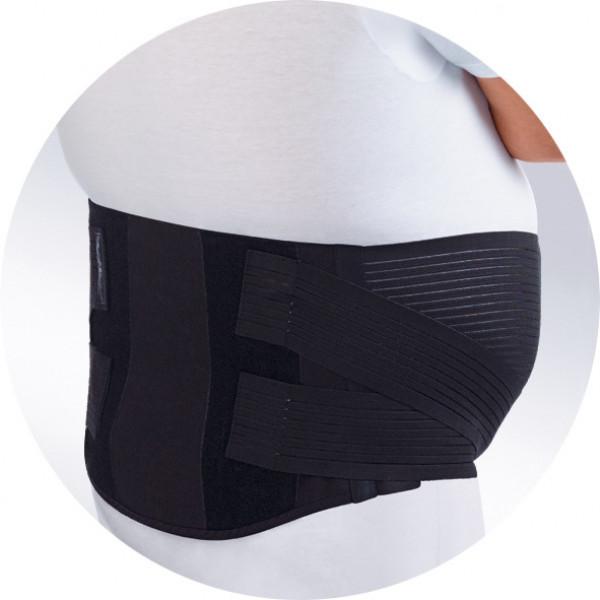 Бандаж ORTO БПА-140 поддерживающий брюшную стенку для выпуклого к низу живота
