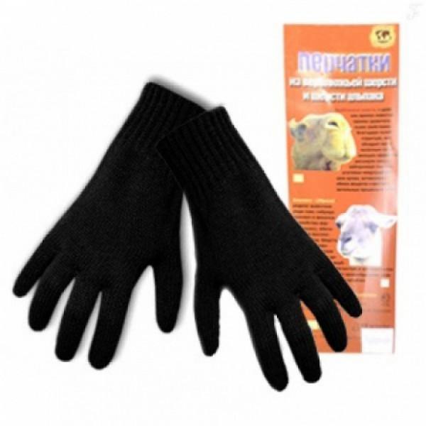 Перчатки из шерсти альпака согревающие мужские