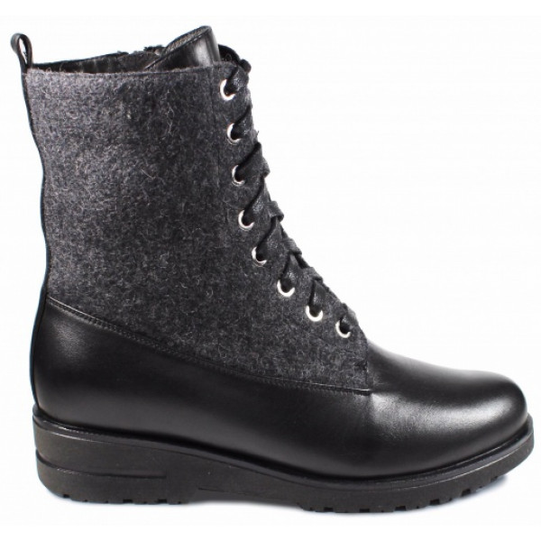 Ботинки женские Сурсил Орто 170403 черный