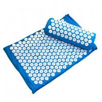 Комплект массажный коврик+валик Тривес М-700 акупунктурный